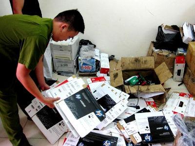 HP phát hiện và thu giữ nhiều sản phẩm mực in giả mạo
