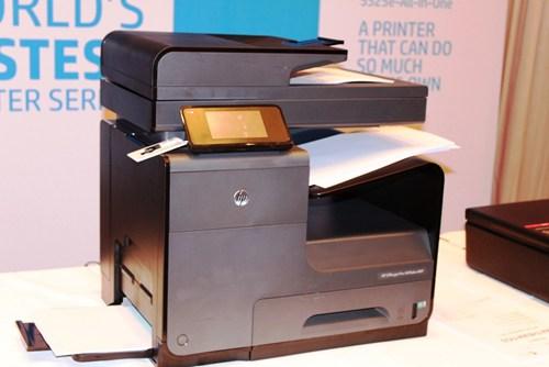 HP ra mắt máy in phun có tốc độ nhanh nhất thế giới